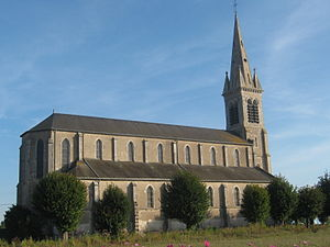 Baule - The church in Baule