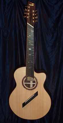 eight string guitar wikipedia. Black Bedroom Furniture Sets. Home Design Ideas