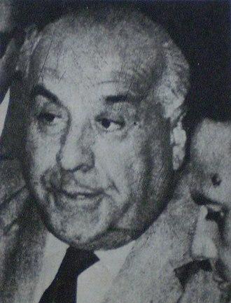 Elías Sapag - Elías Sapag in 1970