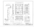 El Palacio Real de Santa Fe, Palace Avenue, Santa Fe, Santa Fe County, NM HABS NM,25-SANFE,2- (sheet 20 of 26).png