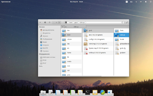 Elementary OS Freya FileManager