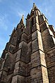 Elisabethkirche (Marburg) Türme aus SW.jpg