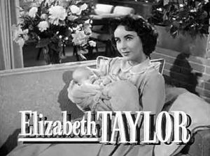 Cropped screenshot of Elizabeth Taylor from th...