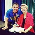 Elizabeth Warren at Netroots 2014 (14693761444).jpg