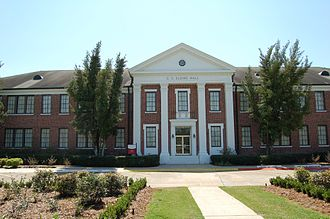 Thibodaux, Louisiana - Charles C. Elkins Hall is one of twenty-eight sites in Thibodaux listed on the National Register of Historic Places.