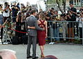 Emily Blunt and John Kraskinski at the premiere of Looper, Toronto Film Festival 2012 (8001824250).jpg