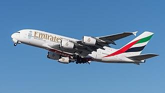 Emirates fleet - Emirates Airbus A380-800