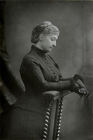 Eugénie de Montijo - Empress Eugénie in mourning for her son, 1880