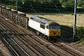 En route to Stockton from Willesden, 56091 heads north at Hitchin. - panoramio.jpg