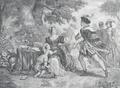 Encontro de D. Inês de Castro e de D. Afonso IV (c. 1830) - Napoléon Thomas.png