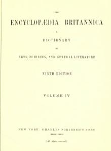 Encyclopædia Britannica, Ninth Edition, v. 4.djvu