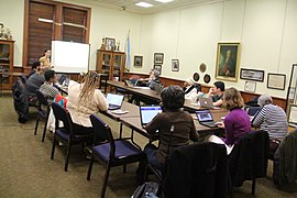 Enhancing the Narrative of DC Public Schools A Wikipedia Editing Workshop 7663.jpg