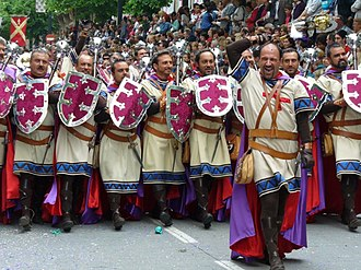 Moors and Christians of Alcoy - Image: Entradafila Vascos 2006