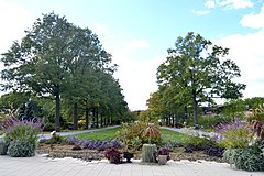 Entrance Plaza, Queens Botanical Garden.jpg