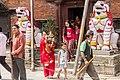 Entrance of Kumari House- Basantpur Durbar Square, Kathmandu Nepal-0366.jpg