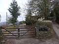 Entrance to Croes Llywarch, near Tredunnock - geograph.org.uk - 1702599.jpg