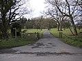 Entrance to Leagram Hall Farm - geograph.org.uk - 1777041.jpg