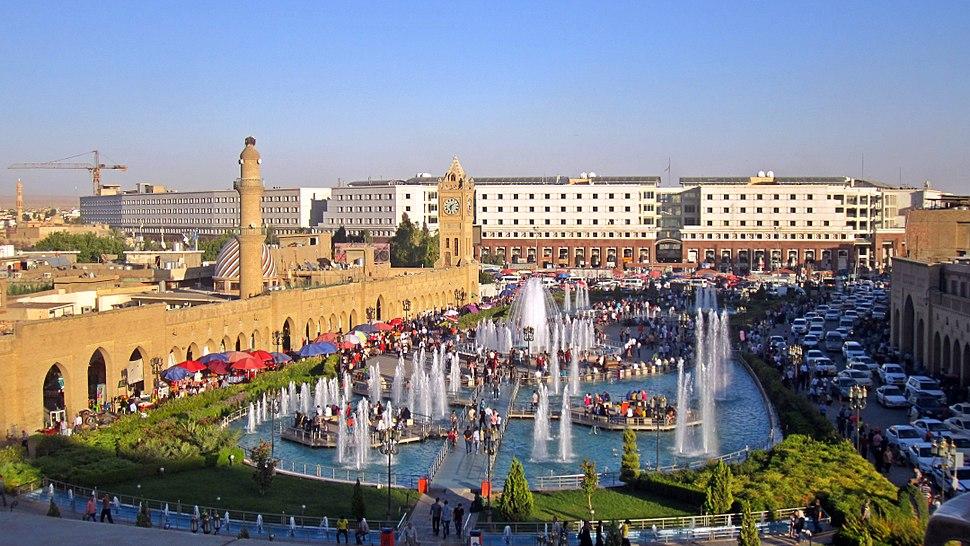 Erbil mail square