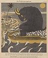 Erich Schilling – Das Plutokratenungeheuer, Kreta, britische Minotaurus (The Plutocrats Monster) 1941 atirical cartoon No known copyright (low-res).jpg