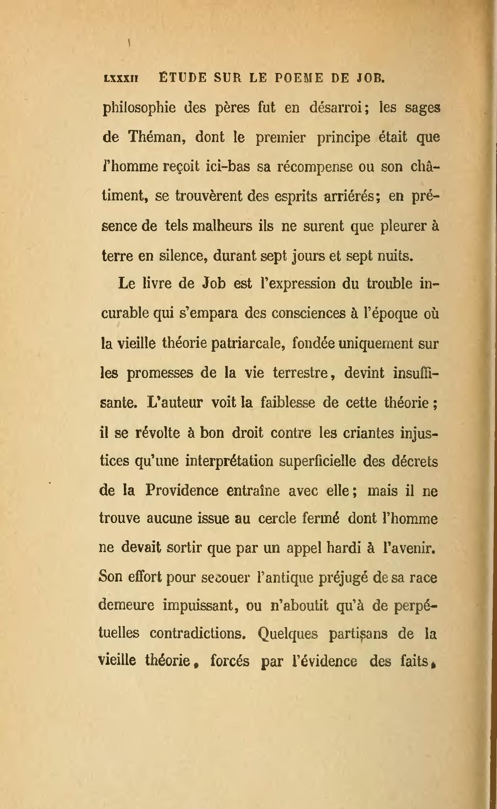 Le Livre De Job, Calmann-Levy, 1860