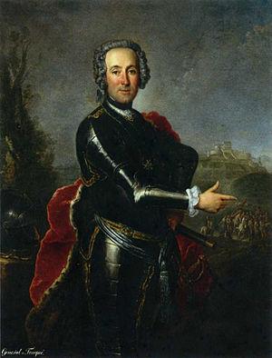 Heinrich August de la Motte Fouqué - Ernst Heinrich August Baron de la Motte Fouqué
