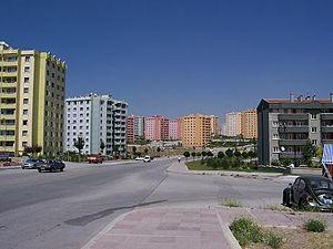 Eryaman, Etimesgut - Image: Eryaman 3. etap Ankara Turkiye