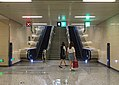 Escalators and stairs at the exit C of Wenyanglu Station (20170911123311).jpg