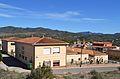 Escoles de Soneja vistes des del dipòsit.JPG