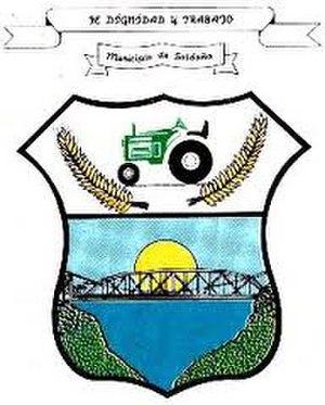 Saldaña, Tolima - Image: Escudo municipal de saldaña