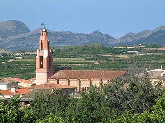 Llocnou de Sant Jeroni - Image: Església Llocnou