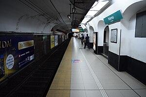 Palermo (Buenos Aires Underground) - Image: Est. Palermo (2)