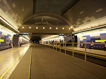 Estaci%C3%B3n Pudahuel Metro Santiago 2
