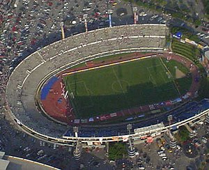 Estadio Tecnológico - The Estadio Tecnólogico before a Rayados game in 2005