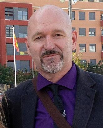 Esteban Navarro - Image: Esteban Navarro en Barcelona 2013