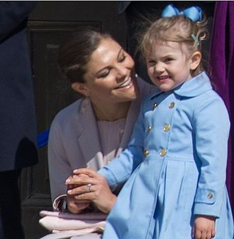 Succession to the Swedish throne - Victoria and her daughter Estelle are first and second in line to the throne.
