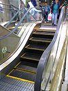 Okadaya Mores escalator, Kawasaki, Japan.
