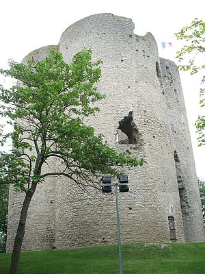 Château d'Étampes - The Tour de Guinette