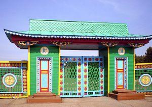 Ulan-Ude - Gate of the Ulan-Ude Ethnographic Museum