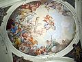 Ex-monastero della crocetta, cappella (oggi biblioteca), affreschi di vincenzo meucci 02 allegoria della croce.JPG