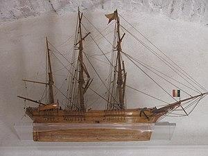 Ex-votos of Annonciade model of ship.jpg