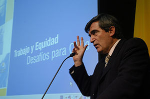 Socialist Party of Chile - Camilo Escalona, three times president of the Socialist Party: 1994-1998, 2000-2003, and 2006-2010.