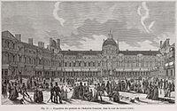 Exposition des produits de l'industrie française, dans la cour du Louvre, 1801.jpg