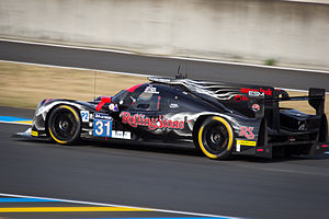 Extreme Speed Motorsports - Extreme Speed Motorsports sporting their non-alcoholic livery at the 2015 24 Hours of Le Mans.