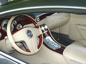 Cadillac Sixteen - The Sixteen's custom interior