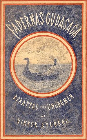 Viktor Rydberg - cover to Fädernas gudasaga