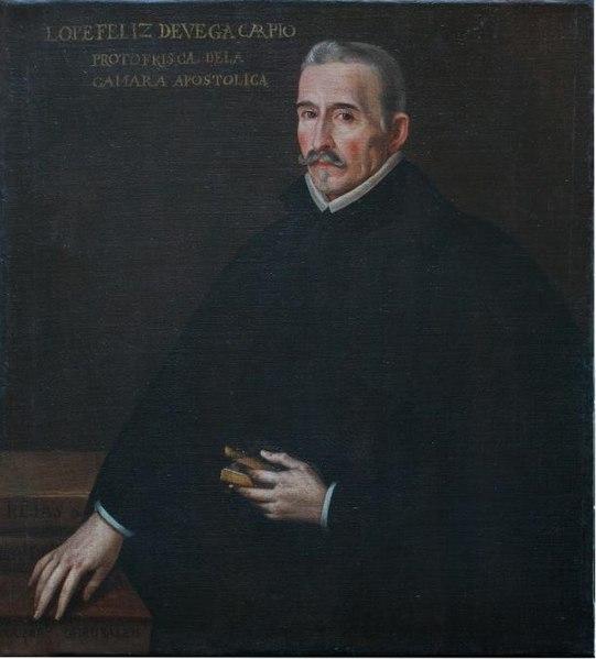 File:Félix Lope de Vega y Carpio (Casa-Museo de Lope de ...