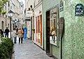 F1930 Paris IV rue Ferdinand-Duval borne Histoire de Paris rwk.jpg