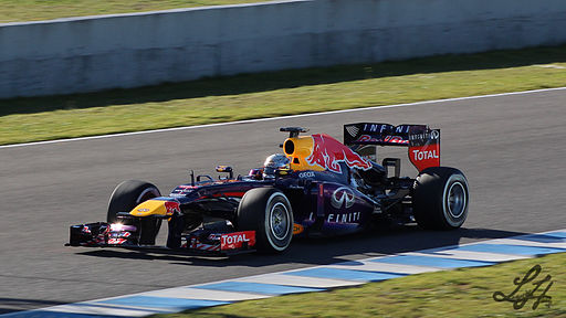F1 2013 Jerez test - Red Bull 2