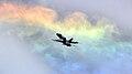 FA-18C Hornet and rainbow.jpg