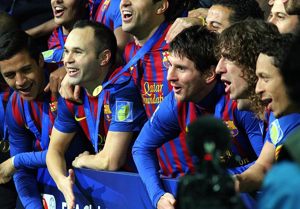 FC Barcelona Team 2, 2011